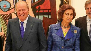Pincha aquí para ver todas las imágenes de los Reyes Eméritos juntos en el Museo Reina Sofía.