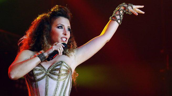 La cantante Gisela