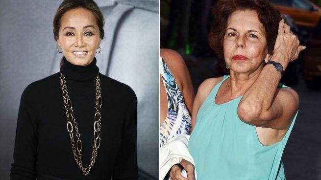 Isabel Preysler y Patricia Llosa