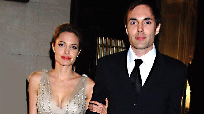 Angelina Jolie y su hermano James Haven Voight