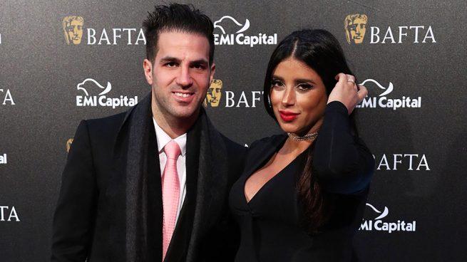 Cesc Fàbregas y Daniella Semaan