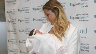 Elisabeth Reyes ha presentado a su primera hija / Gtres