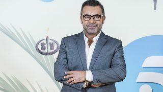 El presentador Jorge Javier Vázquez durante la presentación del programa 'Supervivientes ' (Gtres)
