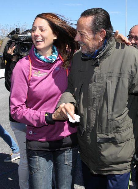 Julián Muñoz y Elia Muñoz