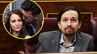 Pablo Iglesias, Paula Echevarría y Bustamante en fotomontaje de LOOK / Fotos Gtres