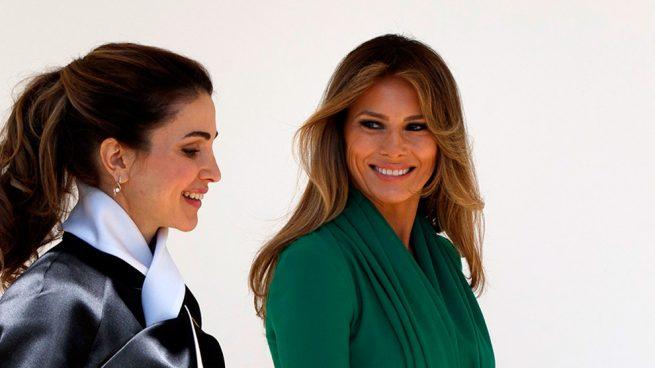 Rania de Jordania Melania Trump