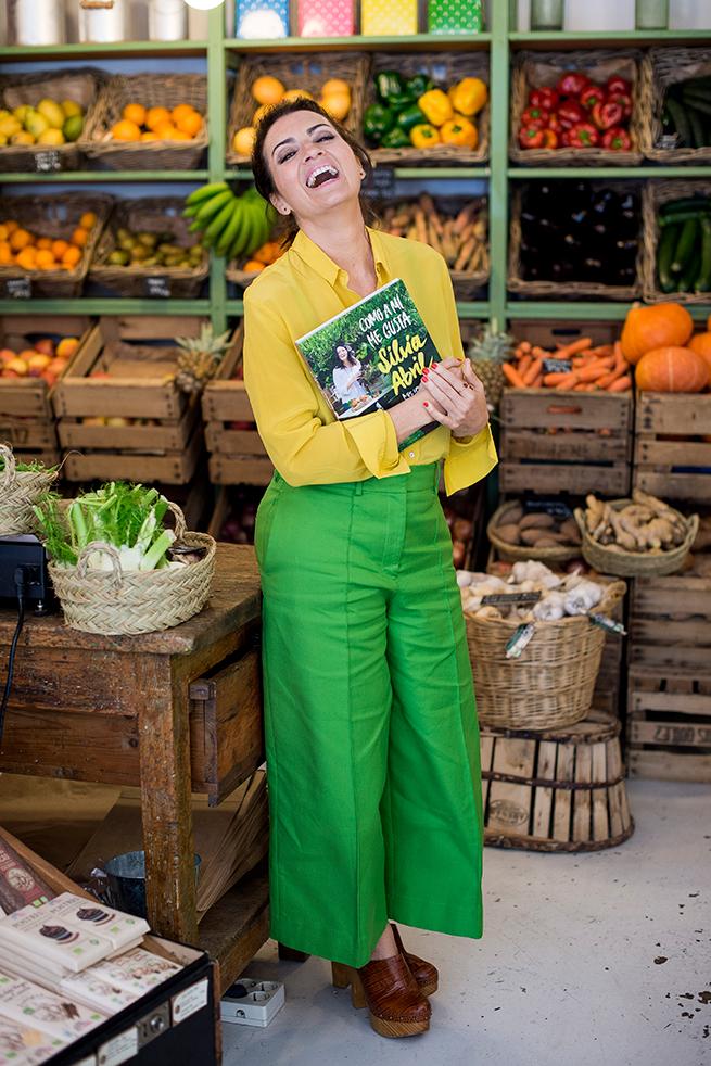 Silvia Abril libro cocina recetas alimentación