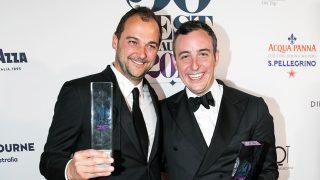 Daniel Humm y Will Guidara recogiendo el premio / The World's 50 Best Restaurants