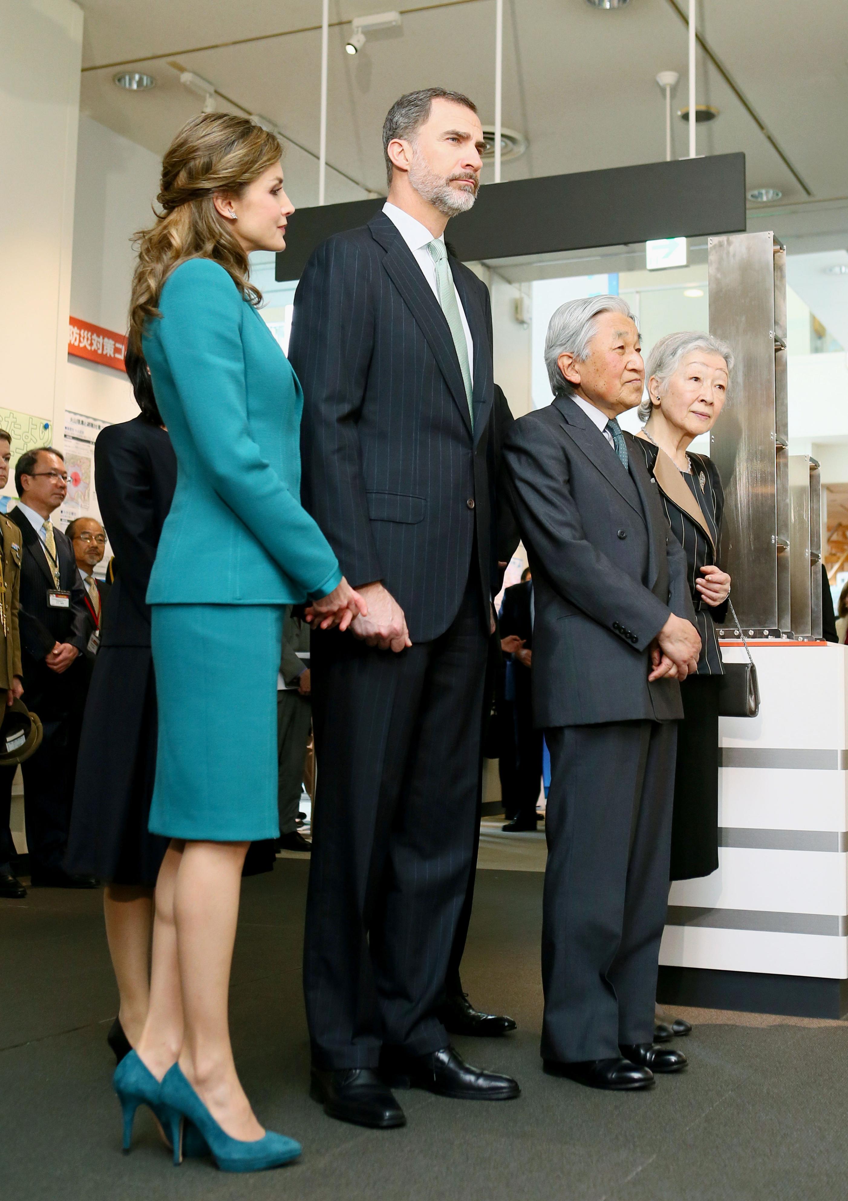 Reina Letizia Look Japón Greenery