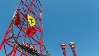 Red Force en Ferrari Land / Gtres