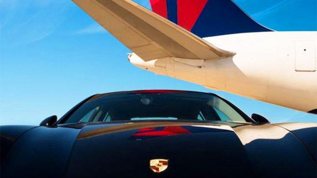 Porsche Delta Air Lines