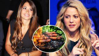 Antonella Roccuzzo, Shakira y la parrillada (Fotomontaje LOOK)
