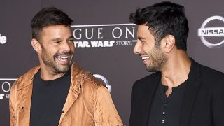 El cantante Ricky Martin y Jwan Yosef, en una imagen de archivo. / GTRES