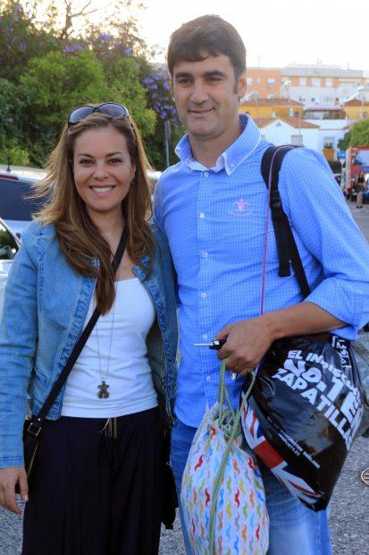 El torero Jesulín de Ubrique y María José Campanario