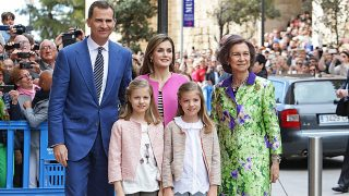 La Familia Real Española en Mallorca /Gtres