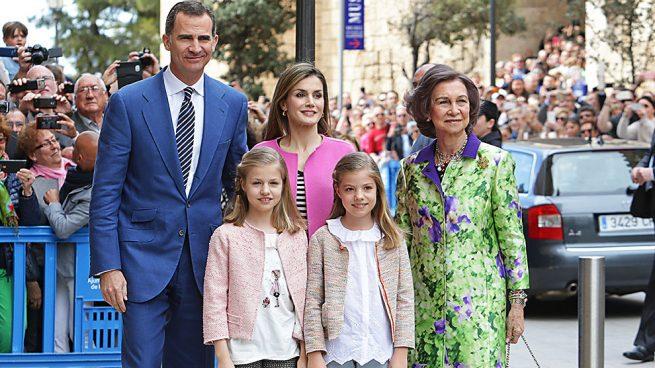 Así son las vacaciones de Semana Santa de la familia del Rey