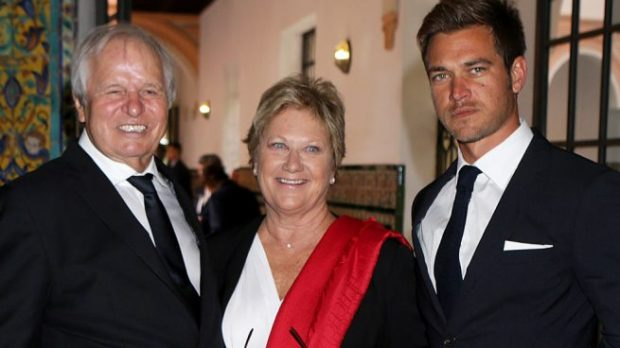 Manuel Benítez con Martina Fraysse y Julio Benítez