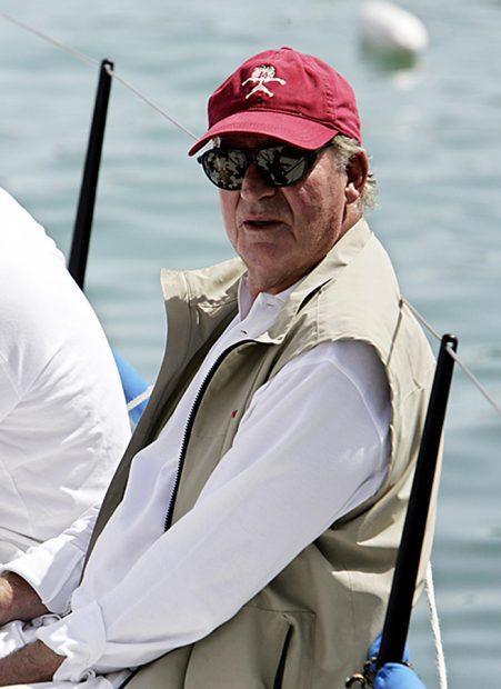 Don Juan Carlos I en una regata en Mallorca /Gtres
