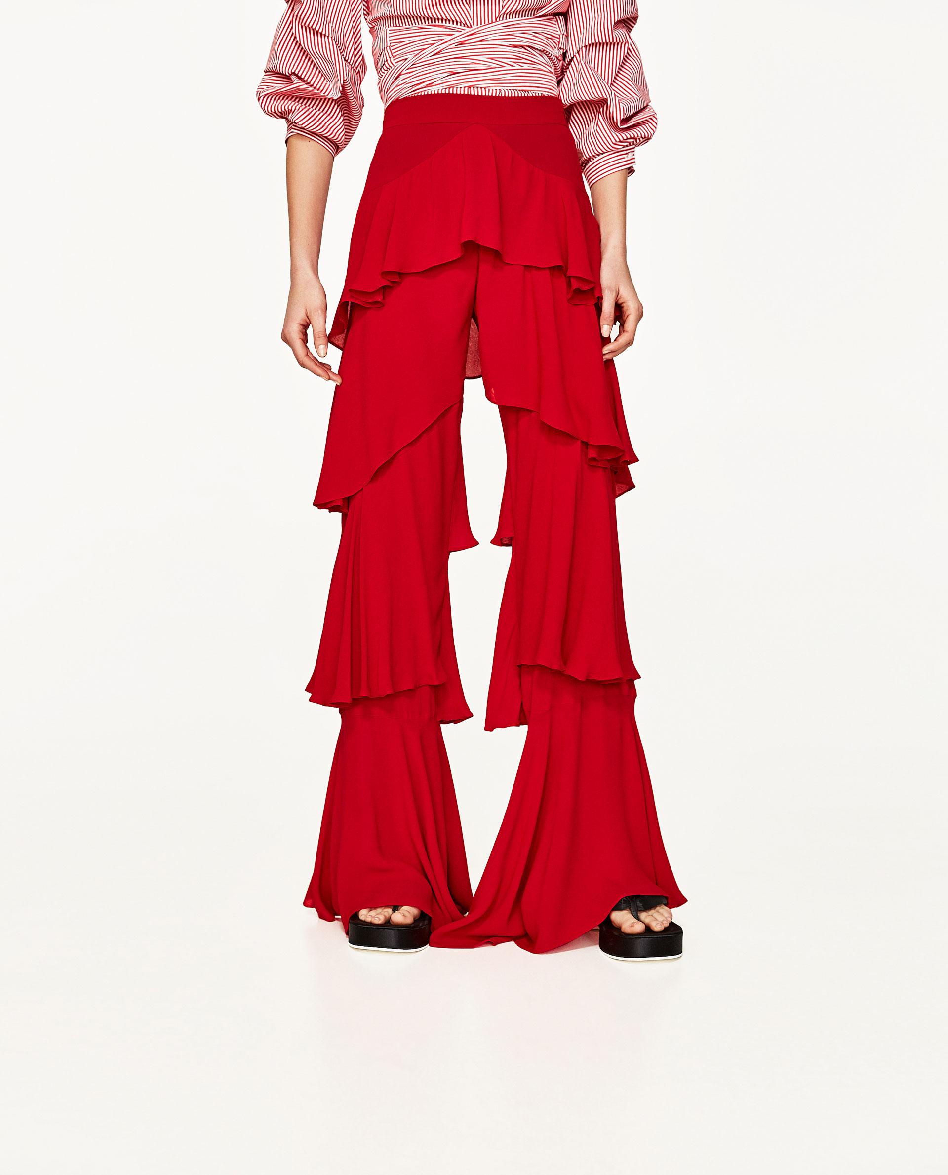 Tendencias Primavera 2017 Volantes Zara