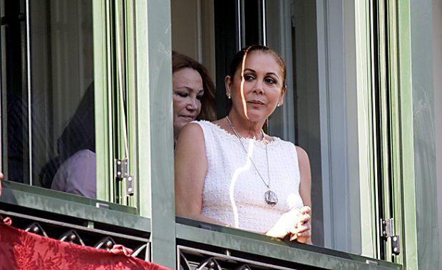 Isabel Pantoja durante una Semana Santa sevillana en el 2010 /Gtres