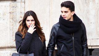Marc Bartra y Melissa Jiménez en una imagen de archivo / Gtres