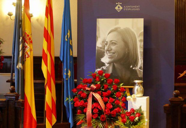 Funeral de Carme Chacón en el Ajuntamiento de Esplugues de Llobregat /Gtres
