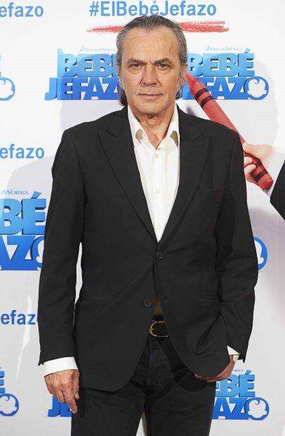 José Coronado durante la promoción de la película 'El bebé jefazo'/Gtres