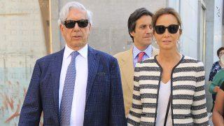 Isabel Preysler y Mario Vargas Llosa a su llegada a La Maestranza / Gtres