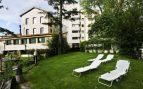 Los jardines del hotel para sus huéspedes