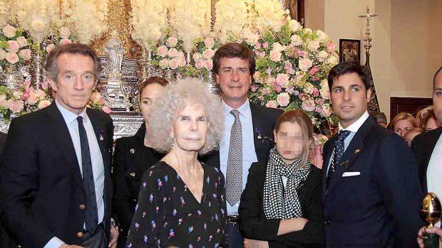 Alfonso Díez yla duquesa de Alba