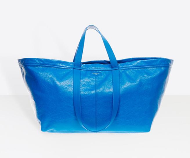 bolso azul balenciaga