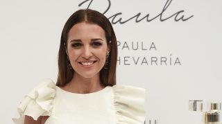 Paula Echevarría durante la presentación de su fragancia 'Sensuelle' / Gtres