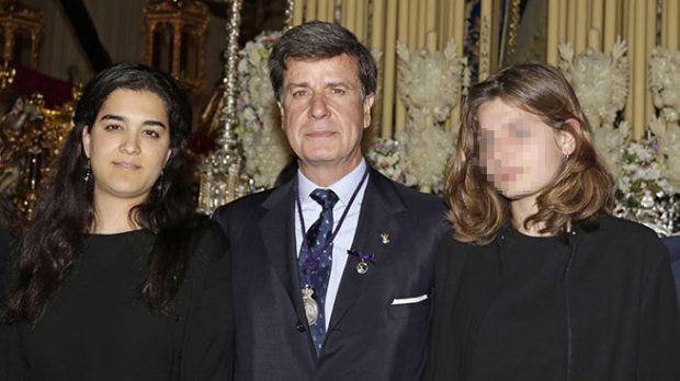 Cayetano Martínez de Irujo, Bárbara Mirjan y Amina