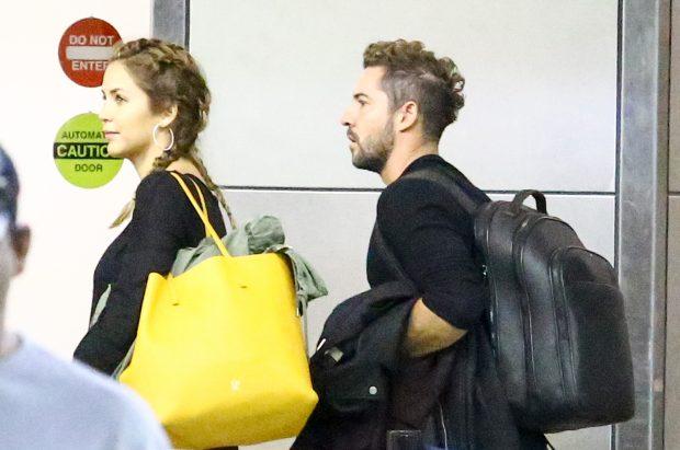 David Bisbal y Rosanna Zanetti se inscriben como pareja de hecho