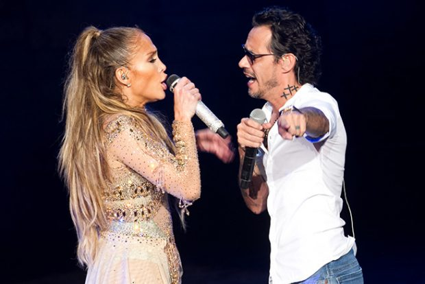 Jennifer Lopez y Marc Anthony