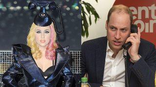 Lady Gaga y Guillermo de Inglaterra en un fotomontaje de LOOK