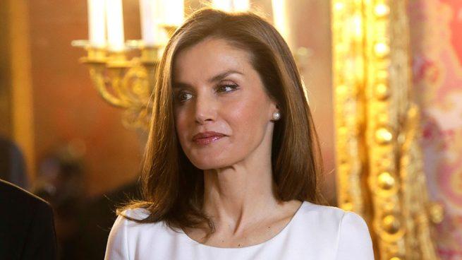 Reina Letizia Felipe Varela Vestido