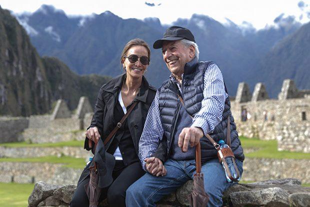 Mario Vargas Llosa e Isabel Preysler