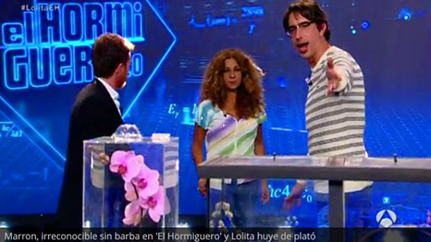 Marron y Lolita en 'El Hormiguero' /Antena3