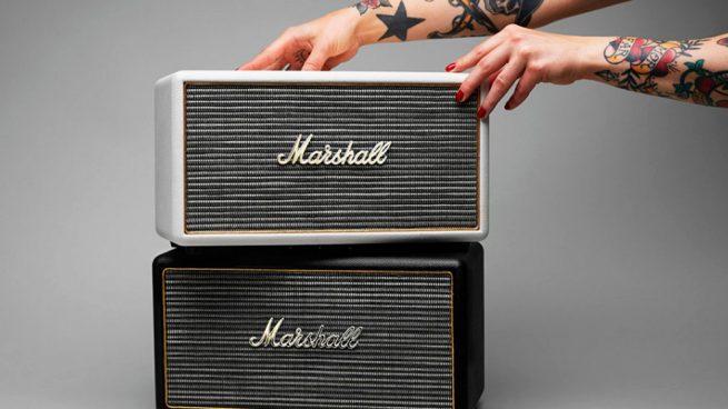 Altavoces vintage Marshall