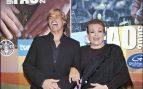 Carmen Sevilla con Carlos Baute en la Gala FAO