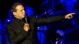 El cantante Luis Miguel durante un concierto en Río de Janeiro, Brasil / Gtres