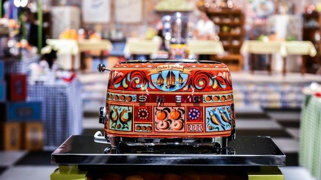 Dolce & Gabbana Electrodomésticos Diseño Decoración Smeg