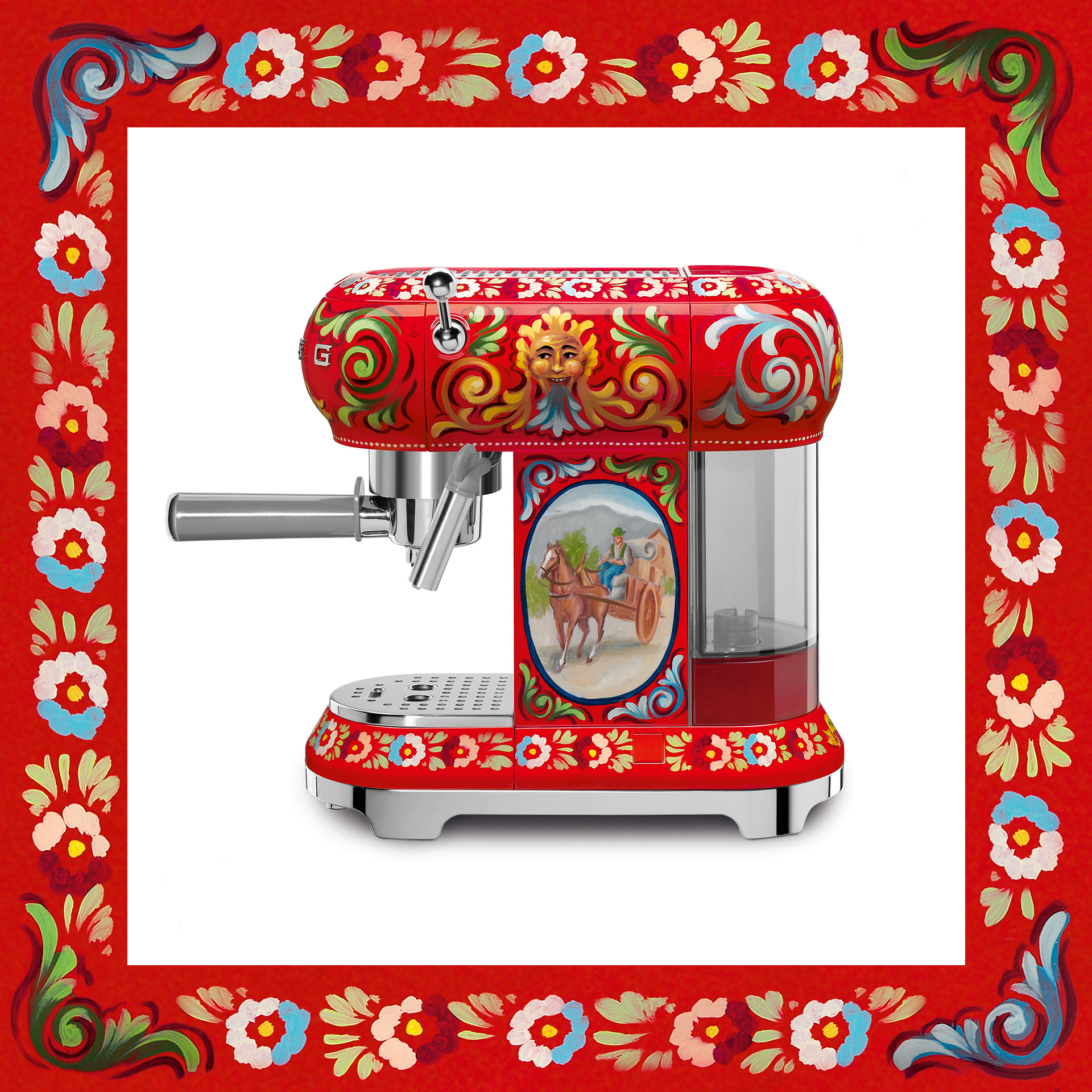 Dolce & Gabbana Diseño Electrodomésticos Smeg