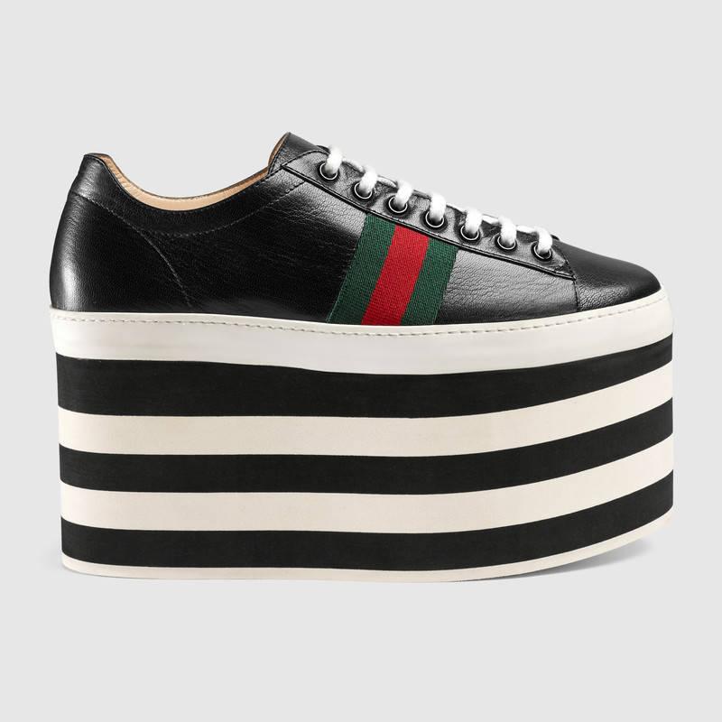 Gucci Plataformas Tendencias 2017
