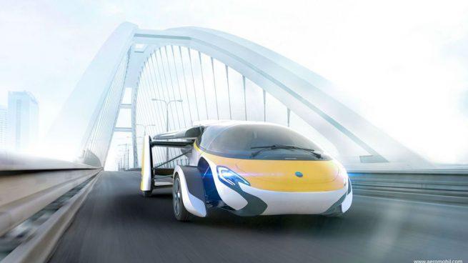 coche volador aeromobil