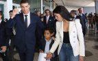 Cristiano Ronaldo, Cristiano Jr. y Georgina Rodríguez