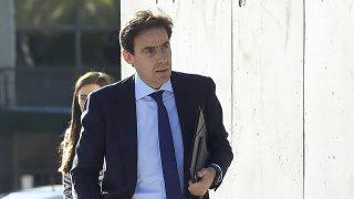 Francisco Javier López Madrid asistiendo al juicio por las 'tarjetas black' en Madrid / Gtres