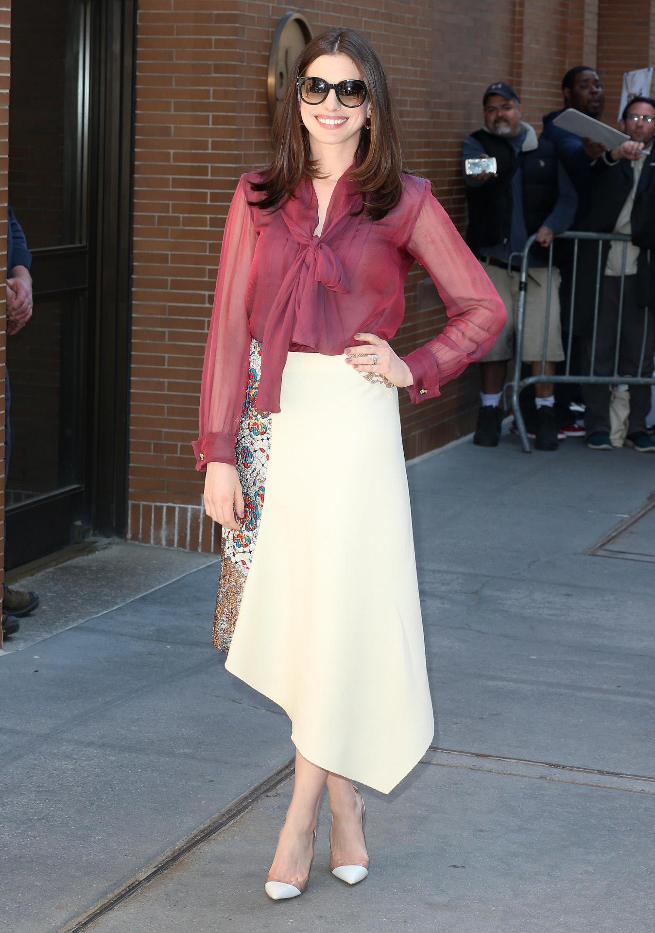 Anne Hathaway Falda Vintage