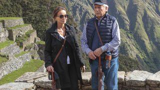 Isabel Preysler y Mario Vargas Llosa durante su viaje a Machu Picchu / Gtres